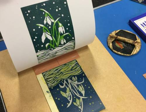 Printing – Colour Reduction Linocut with Helen Murgatroyd