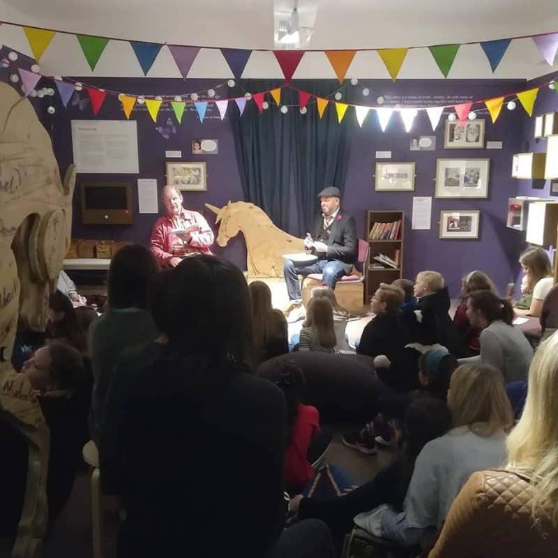 Michael Morpurgo visits the Burton