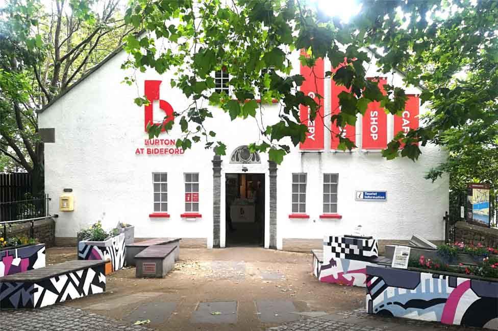 Burton at Bideford - museum - gallery
