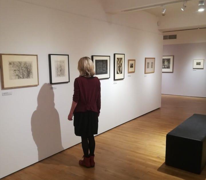 The Printed Line - Burton at Bideford Installation