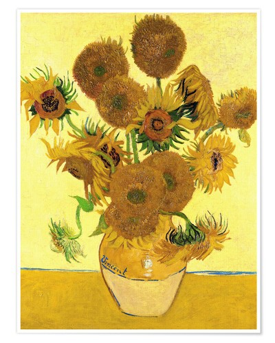 image of Van Gogh's sunflowers