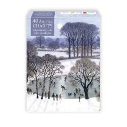 box cover of 40 Assorted charity pack