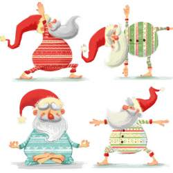 Yoga Santa Macmillan cards