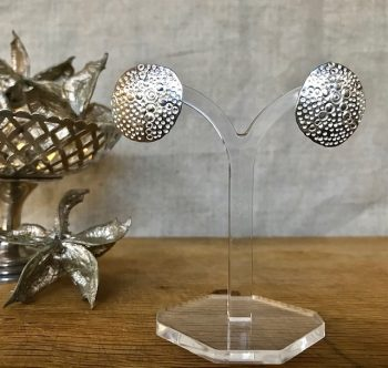 Ann Bruford - Silver stud earrings