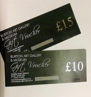 Burton gift vouchers