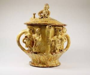 ceramic from the folk art exhibition