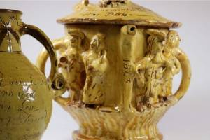 ceramice from the folk art exhibition