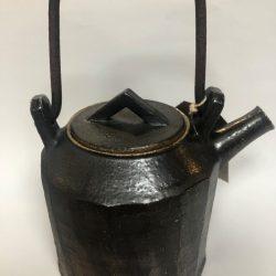 Popalini & Jezando - wood-fired pyramid top teapot with iron handle