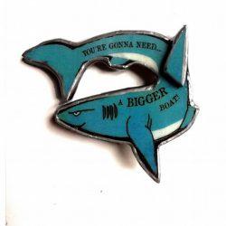 Shark Brooch - Ellymental