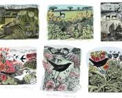 Printmakers - card bundle - Angela Harding