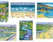 Printmakers - card bundle - Carry Akroyd